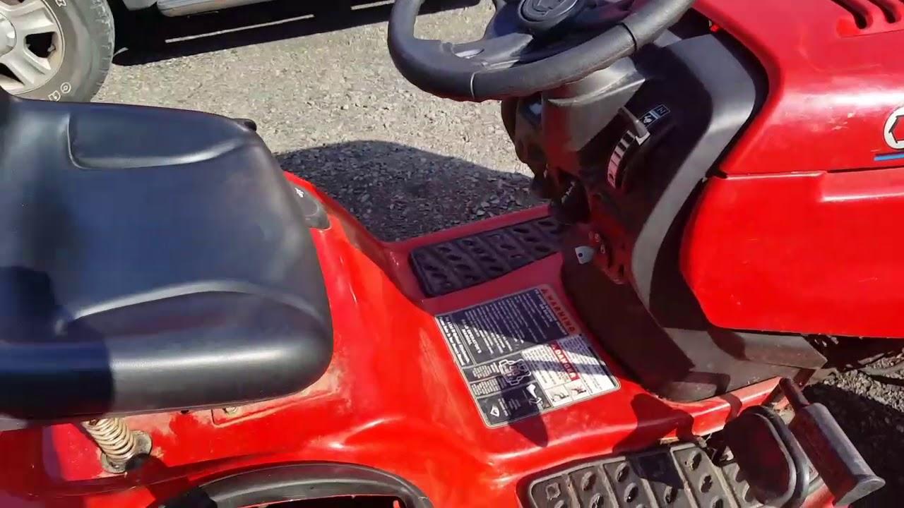 Troy Bilt Bronco Riding Lawn Mower Repair Youtube 31ah64fg700 Parts List And Diagram 2012 Ereplacementpartscom