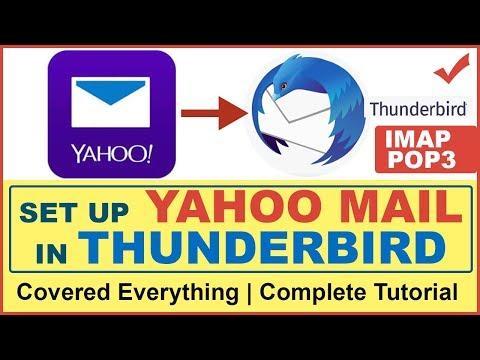 How To Setup Yahoo Mail In Mozilla Thunderbird | Access Yahoo Mail In Thunderbird | IMAP & POP3