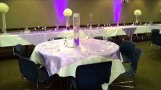 The Stephens Purple Wedding by Crystal's Creations