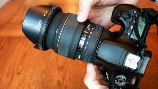 Baixar Sigma 24-70mm f/2.8 EX DG Macro lens review with samples (Full-frame & APS-C)