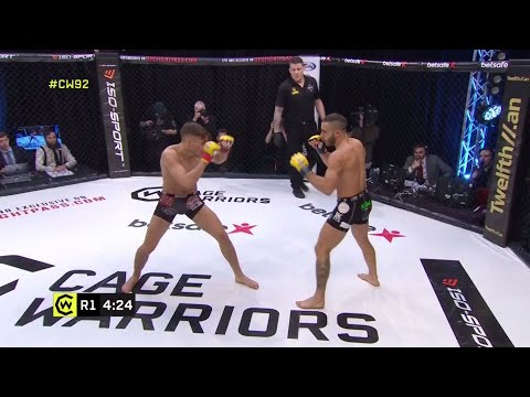 Nathaniel Wood's HUGE one-punch knockout at CW92