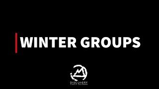 Winter Groups at DCC  Discovery Church Colorado