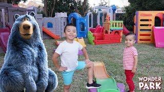 Built Our Own WONDER PARK Backyard Playtime Fun CKN Toys AD