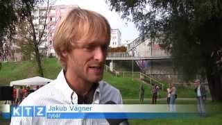 TV KRALUPY S Jakubem Vágnerem u kralupské tůně