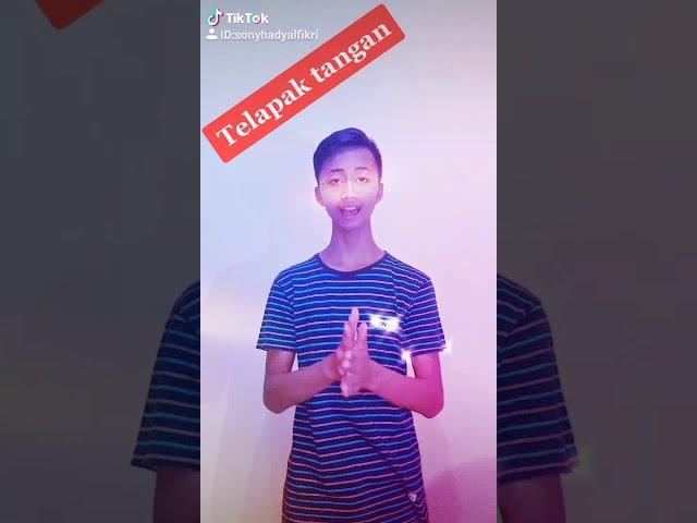 Tata Cara Cuci Tangan - Tugas Video Tiktok Edukasi Hidup Sehat Bebas Covid-19 - Sony Hadi #shorts