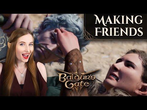 Baldur's Gate 3 (Early Access ) | Making Friends |