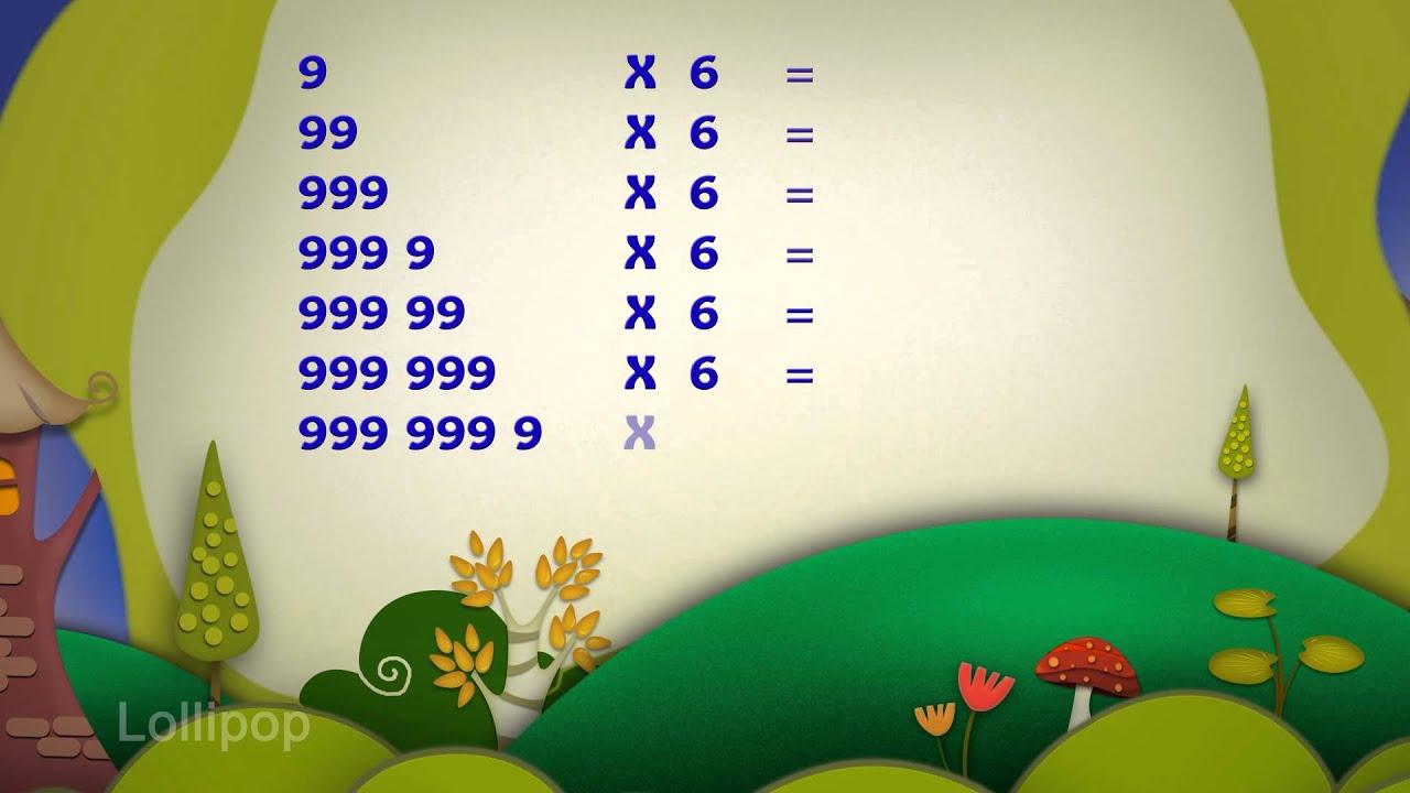 Maths Fun - Magic of Number 9 with 6 | Easy Maths | Maths Tricks ...