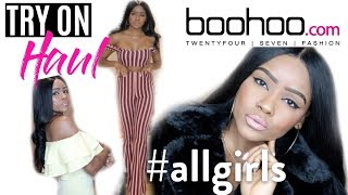 FALL BOOHOO TRY-ON HAUL   Affordable Clothing!
