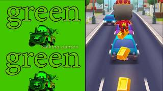 Gold Run My Tom Game Cat and Car Colors in Talking Games