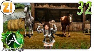 ArcheAge: Zwei Pferde ziehen ein 🐴 #32 | Let's Play [DEUTSCH]