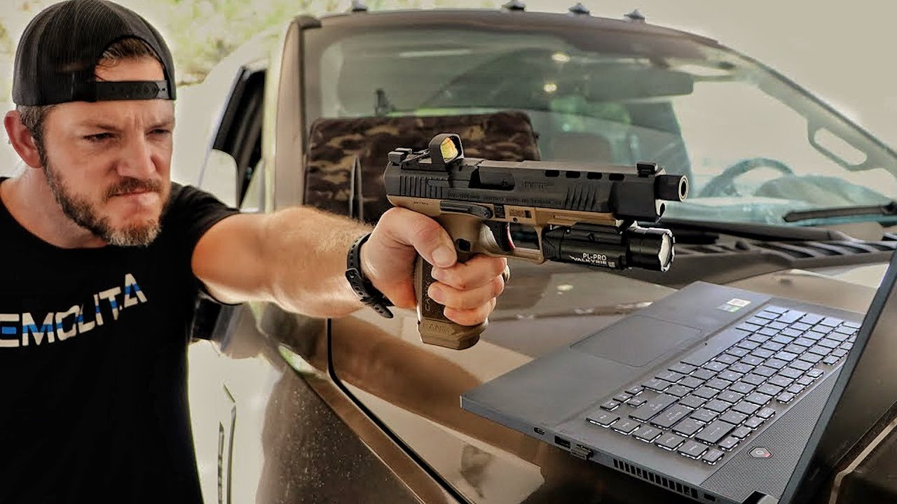 Download The Most Tactical and Affordable Gun, Against My Bulletproof Laptop