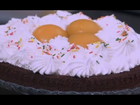طريقه عمل كيك الشوكولاته بالخوخ - طعميه الفول - طعميه الحمص الشيف نونا | البلدي يوكل PNC FOOD