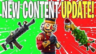 PAIN TRAIN ASSAULT RIFLE & TREE OF LIGHT! v7.10 Content Update #2 | Fortnite Save The World News