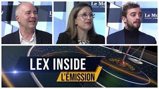 LEX INSIDE - Emission du mardi 16 février 2021