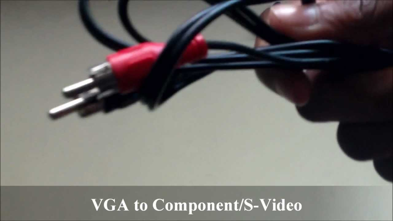 REVIEW: VGA to composite & S-Video - YouTube