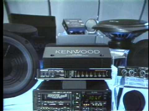 1987 Kenwood Car Audio Components - YouTube