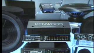 1987 Kenwood Car Audio Components