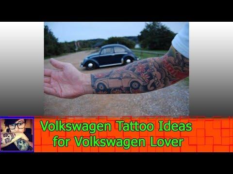 Volkswagen Tattoo Ideas for Volkswagen Lover