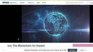 IXO Blockchain For Impact
