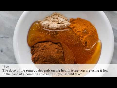 TURMERIC WITH HONEY - THE STRONGEST NATURAL ANTIBIOTIC