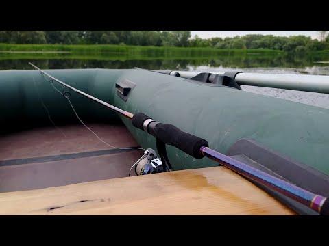 Рыбалка в Волжских протоках. Первая съемка.