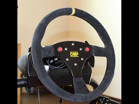 Logitech G920 Aftermarket Steering Wheel Mod With Quick Release