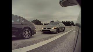 Crazy Car Almost Crash