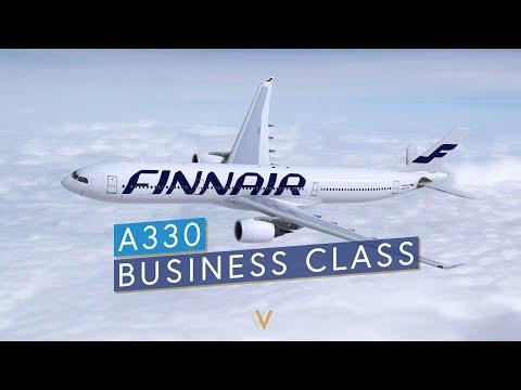 Finnair A330 Business Class - Helsinki to Beijing