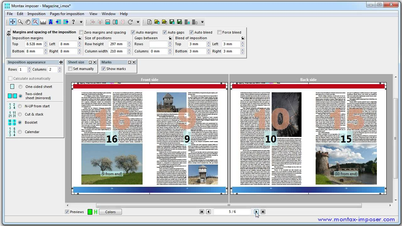 How to - Montax Imposer - N-UP, booklet, cut stack pdf