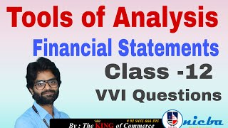Tools of Financial Analysis | …