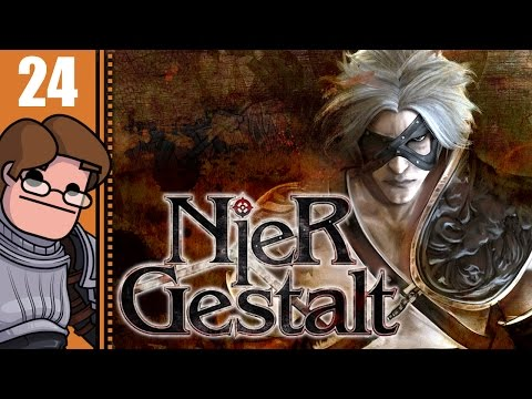 Let's Play Nier Gestalt Part 24 - The Shadowlord's Castle