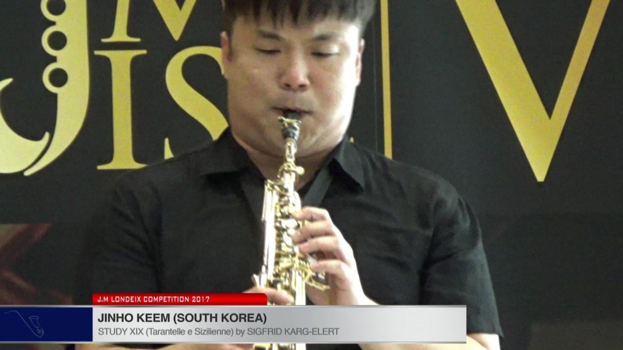 Londeix 2017 - JinHo KEEM (South Korea) - XIX Tarantelle e Sizilienne by Sigfrid Karg Elert