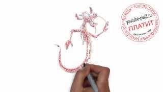 Как нарисовать дождевого червя из чернобыля за 36 секунд