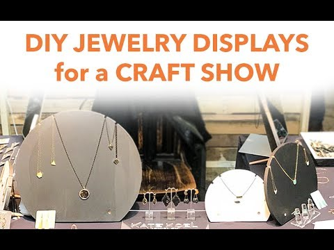 DIY JEWELRY DISPLAY for a CRAFT SHOW