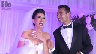شاهد مفاجأة من اخت وأم العريس للعريس في يوم زفافه رووووووووووووعة