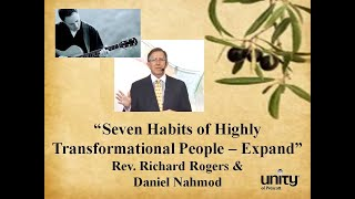 Rev. Richard Rogers' , Seven Habits of Highly Transformational People  - Expand