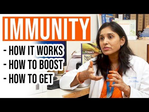 What Is IMMUNITY.? - How It Helps Our Body, How to Get It   Dr. K. Sowmya
