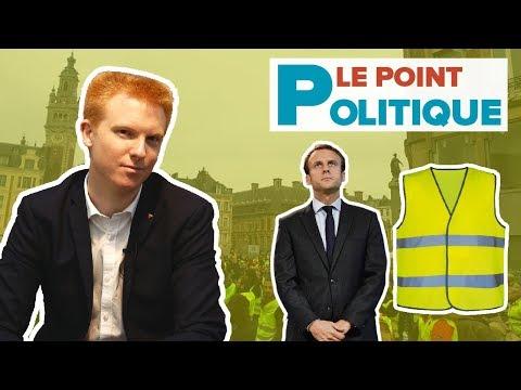 Le Point Politique : Voeux 2019, Macron, Gilets Jaunes, Grand débat national - Adrien Quatennens