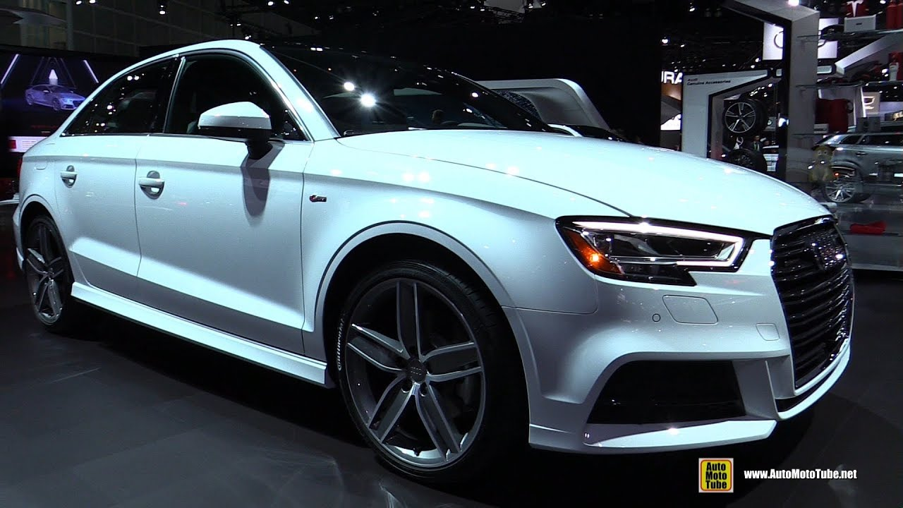 2018 audi a3 exterior and interior walkaround 2017 la auto show youtube. Black Bedroom Furniture Sets. Home Design Ideas