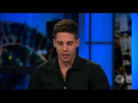 Dean Geyer interview live on the project