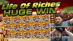 LIFE OF RICHES B*TCHES!! MASSIVE ONLINE SLOT WIN!