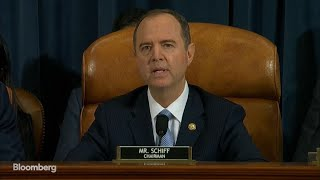 Schiff Outlines 'Impeachable Conduct' as Public Hearing Opens