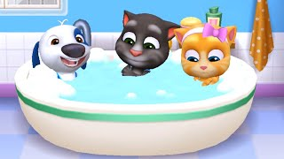 MY TALKING TOM FRIENDS ANDROID GAMEPLAY