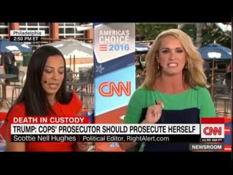 Two CNN Commentators Cat Fight and Call Each Other Liars over Freddie Gray