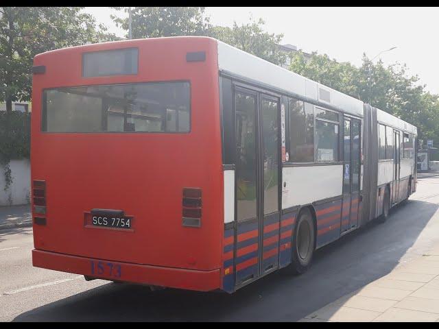 Volvo B10MA #1573 - przejazd, linia 60 - Cukrowa