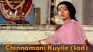 Chinnamani Kuyile (Sad) - Vijaykanth, Radha - Amman Kovil Kizhakale - Super Hit Song