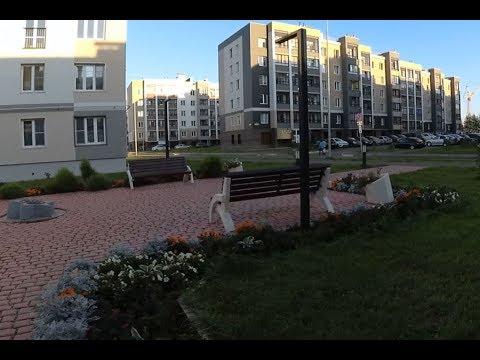 Весь Метроград (Киров) за 7 минут  - обзор с велосипеда