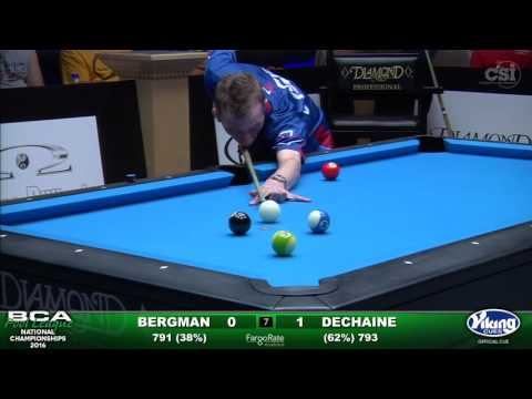 8-Ball Challenge Finals Set 2- Bergman vs Dechaine
