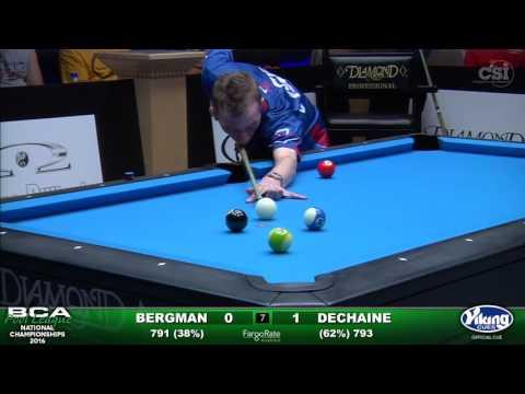 8-Ball Challenge Finals Set 2- Bergman vs Dechaine