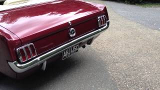 """Laura"" 1965 Mustang ('64 ½) Convertible V8 Auto Burgundy"